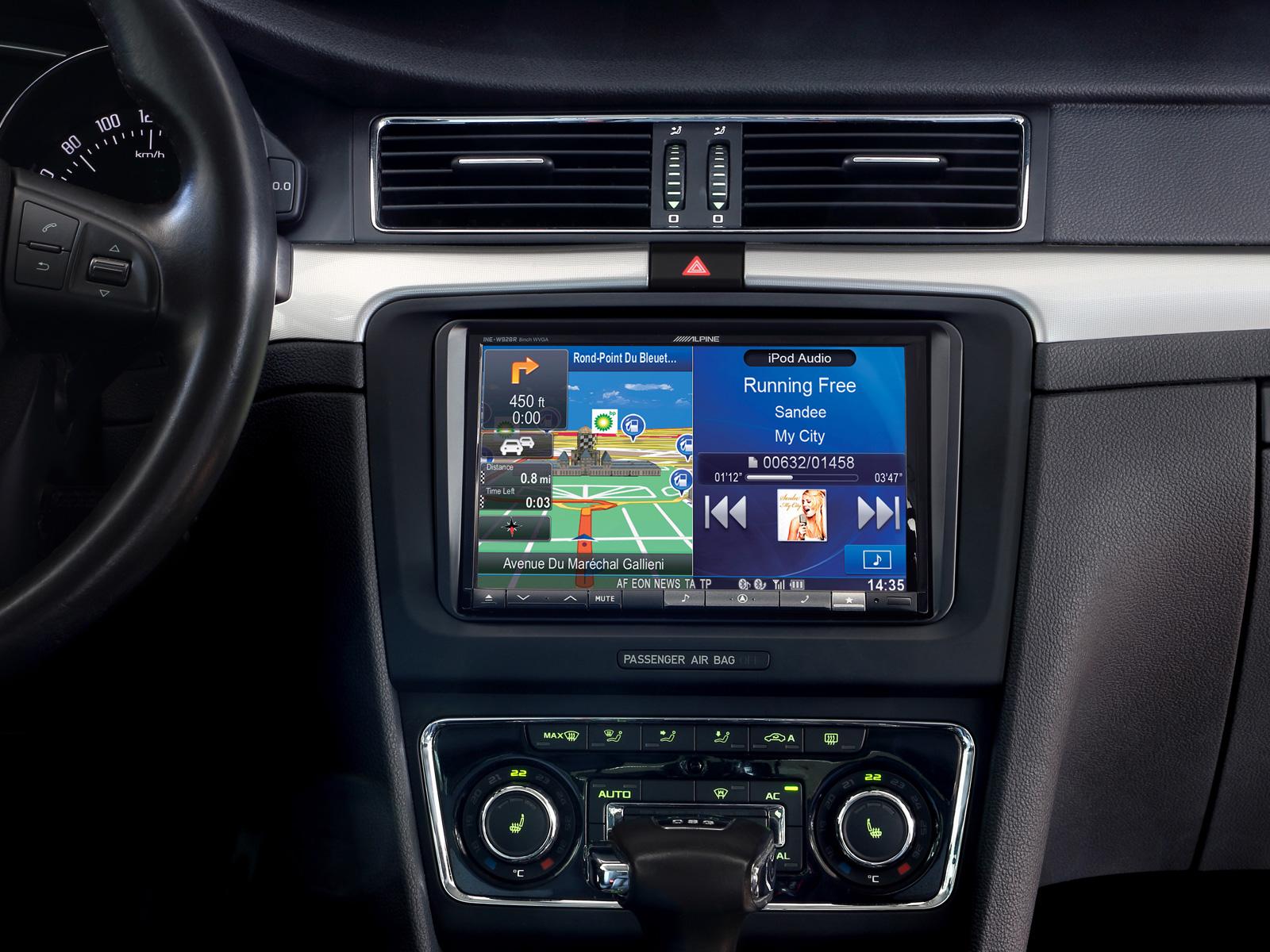 Installation Kit for INE W928R VW Touran Tiguan Seat Alhambra
