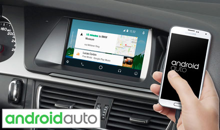 Audi A4 - Works with Android Auto - X702D-A4