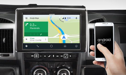 Online Navigation with Android Auto - i902D-DU