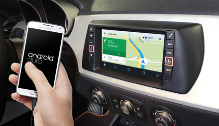 Online Navigation with Android Auto - X702D-F