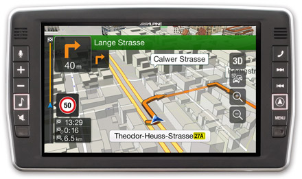 Mercedes Vito - Navigation - 3D Maps  - X902D-V447