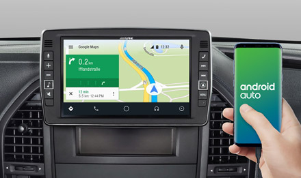 Online Navigation with Android Auto - X902D-V447
