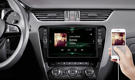 Skoda Octavia 3 - Connect Your Smartphone - i902D-OC3