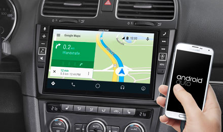 Online Navigation with Android Auto - X902D-G6
